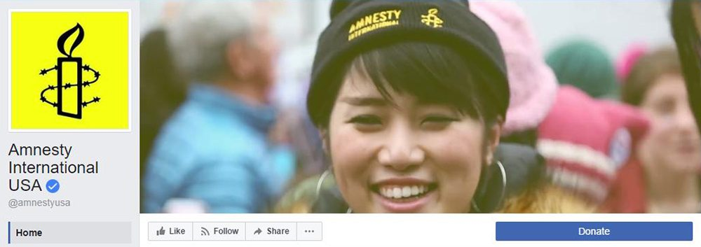 Facebook Cover Video Inspiration Amnesty International