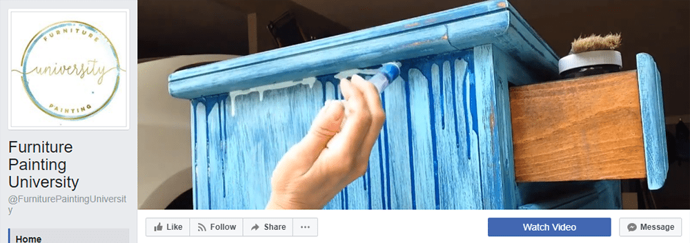 Facebook Cover Video Inspiration Furniture Painting University