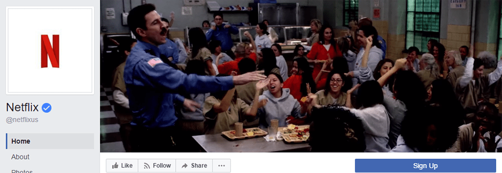 Facebook Cover Video Inspiration Netflix